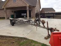 Large boat trailer (Beaumont)