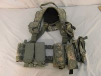 tactical tailor load bearing vest w/ magazine pouches / hydration pouch 31451