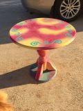 Absolutely darling handpainted little table - great Christmas gift!!