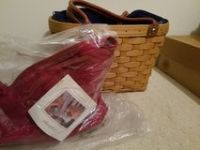 Longaberger basket purse