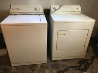 Washer and free dryer