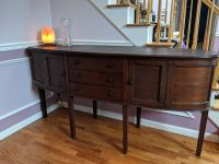 Early 1900's antique oval buffet.