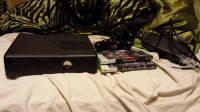 Slim Xbox 360 250 gig  2 games 2 controllers
