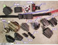 For Sale/Trade: Holsters, belts, optics, triggers for glock, smith & wesson & ar15, SCAR