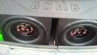 2 15inch memphis subs
