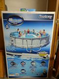 16ft Above Ground pool with Floatie (Never Opened!)