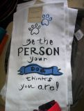Be The Person Your Dog Thinks You Are Kitchen Towels