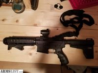 For Sale: BARELY USED 300BLK Pistol AR W/ AIMPOINT