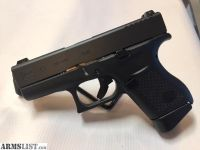 For Sale: GLOCK 43 9mm Pistol, 2 Magazines, 6+1 Rounds, Glock Night Sights