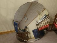 Antique 16 sided beveled MIRROR