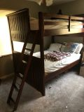 Ashley Wood Bunk Bed Full over Full