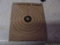 1920S WINCHESTER AIR RIFLE TARGET ADVERTISING SIGN