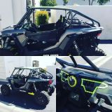 Find Polaris RZR XP1000 Radius Roll Cage w/Aluminum Roof & All Tabs XP 1000 motorcycle in Riverside, California, United States, for US $1,000.00