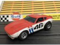 Aurora AFX Datsun 240 Z #46 HO Slot Car New Silicone Tires