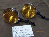 Sell Cats Eye Tear Drop Lightsf/Buick,Cadillac,Olds,Pontiac,Studebaker,Pierce,Chrys motorcycle in La Crosse, Wisconsin, US, for US $1,200.00