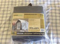 20 x 30 10 mil thick tarp w/grommets every 18 still in unopened sealed package. MOVING must be gone by 12/23