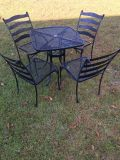 Wrought Iron Table & Chairs Patio Set