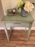 Sage Green night stand / end table