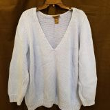 Womens 26/28 Chunky Knit Sweater by Lane Bryant.
