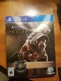 PS4 Assassins Creed Origins Gold Steelbook Edition w/ Season Pass