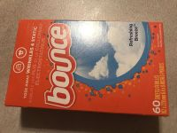 60 count of bounce dryer sheets