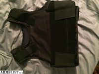 For Sale/Trade: Body armor 2 vests. One Kevlar one steel plated