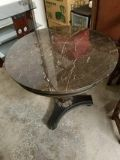 Round Marble Top Decorative Table