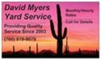 Yard Service - I'm available immediately!
