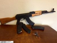For Sale/Trade: Ak47 ras47 with side mount for scope