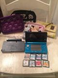 Nintedno 3ds with 9 games