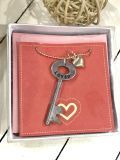 Loved Antique Key Hand Stamped Necklace