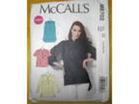 McCall's 6702 Misses Pullover Top Pattern Variations Uncut