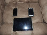 Samsung Galaxy S4 and Tablet