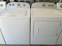 $599, Whirlpool Washer and Electric Dryer in White