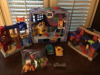 Monsters university play sets