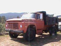 1970 Ford 650 Dump TRuck
