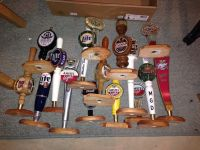 16 mounted beer tappers