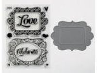 Paper Smooches FLIRTY FRAMES stamp set and matching die