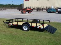 2017 utility trailers 6 x 12 dove tail