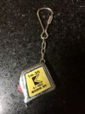 Vintage K-1 tools 3' measuring tape keychain