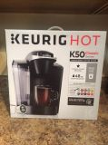 Brand new factory sealed box,Keurig K50 Classic series single serve coffee maker.Would make a great gift for your self or someone else