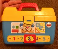 Fisher Price Tool Box Baby Toddler Toy