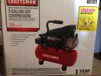New never opened craftsman air compressor