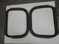 Purchase 1928,1929 Model A Ford Coupe Rear 1/4 Window Trim, Garnish, Hot Rod,Rat Rod,orig motorcycle in Vancouver, Washington, US, for US $50.00
