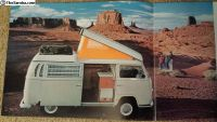1969 Westfalia Camper Bus Mint Brochure