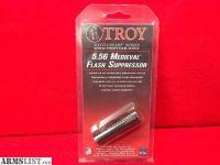 For Sale: Troy AR-15 Medieval Flash Suppressor .223/5.56 1/2x28 Steel Parkerized Black