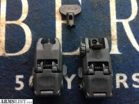 For Sale: MAGPUL MBUS GREY FLIPUP AR-15 SIGHT SET