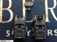 For Sale: MAGPUL MBUS GREY FLIPUP AR-15 SIGHT SET