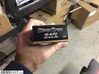For Sale: Blazer brass 45acp 230gr