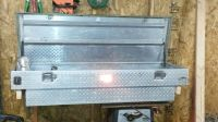 truck tool box and large air compressor (Etoile)